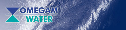 Omegam Water logo